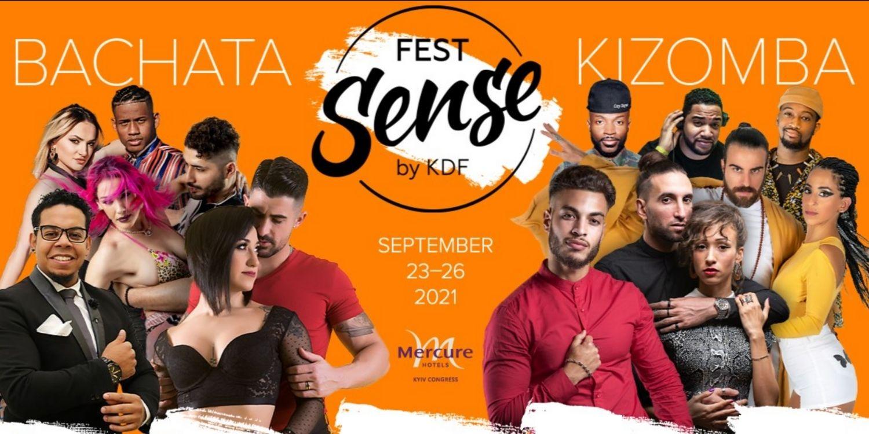 Kyiv Sense Fest Ukrainian Bachata&Kizomba Festival 2021